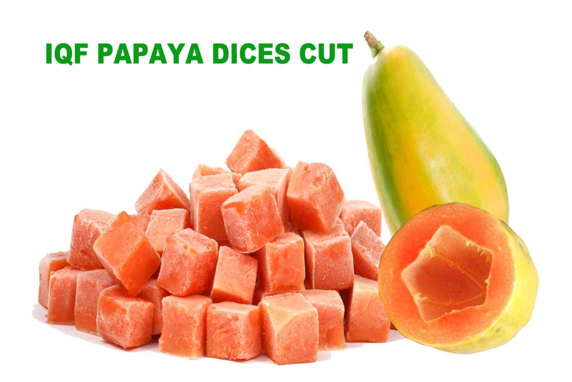 IQF Papaya Dices Cut