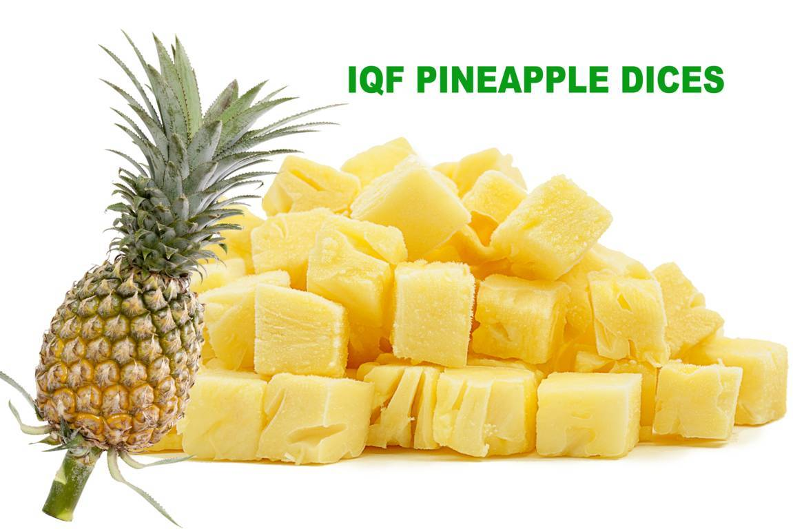 IQF Pineapple Dices