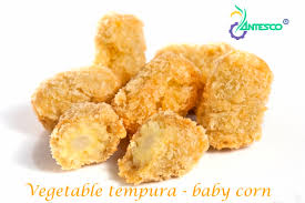 Vegetable Tempura - Baby Corn
